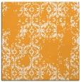 rug #1094334 | square light-orange damask rug