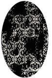 rug #1094342 | oval white traditional rug