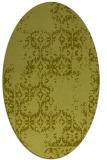 rug #1094420 | oval damask rug