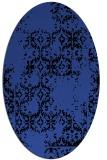 rug #1094538   oval black rug