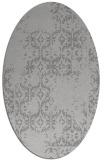 rug #1094557 | oval faded rug