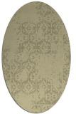rug #1094680 | oval traditional rug