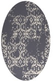 rug #1094704 | oval traditional rug