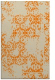 rug #1094706    orange damask rug