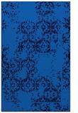 rug #1094738 |  blue damask rug