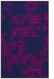 rug #1094742 |  blue damask rug