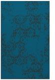 rug #1094774 |  blue damask rug