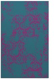 rug #1094790 |  blue-green traditional rug