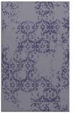 rug #1094798 |  blue-violet damask rug
