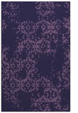 rug #1094806 |  blue-violet traditional rug