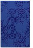 rug #1094810 |  blue-violet faded rug