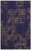 rug #1094814 |  blue-violet faded rug