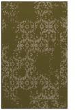 rug #1094822 |  brown damask rug