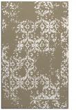 rug #1094866 |  mid-brown faded rug