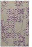 rug #1094890 |  purple damask rug