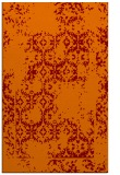 rug #1094910 |  orange traditional rug
