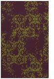 rug #1094946 |  purple damask rug