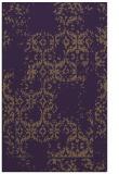 rug #1094950 |  purple damask rug