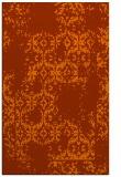 rug #1094974    red-orange faded rug