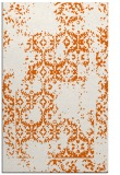 rug #1094986    red-orange damask rug