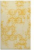 rug #1095022 |  yellow traditional rug