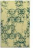 rug #1095038 |  yellow damask rug