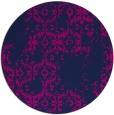 rug #1095110 | round pink traditional rug