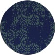 rug #1095114   round blue traditional rug