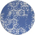 rug #1095122 | round blue traditional rug