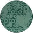 rug #1095133 | round faded rug