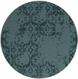 rug #1095150 | round damask rug