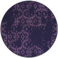rug #1095174 | round purple traditional rug