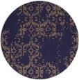 rug #1095182 | round beige faded rug