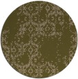 rug #1095190 | round brown faded rug
