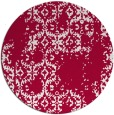 rug #1095194 | round red traditional rug