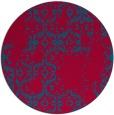 rug #1095199 | round damask rug