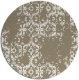 rug #1095234 | round white faded rug