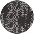 rug #1095290 | round red-orange popular rug