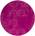 rug #1095294 | round pink traditional rug