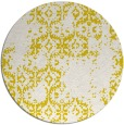 rug #1095366 | round white faded rug