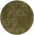 rug #1095422 | round light-green rug