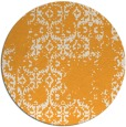 rug #1095438 | round white faded rug