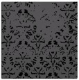 rug #1095818   square black damask rug