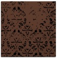 rug #1095826 | square black damask rug