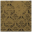 rug #1095838 | square mid-brown faded rug