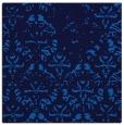 rug #1095842 | square blue damask rug