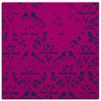 rug #1095846 | square pink traditional rug