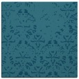 rug #1095882 | square blue-green damask rug