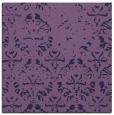 rug #1095910 | square purple damask rug