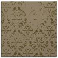 rug #1095926 | square brown damask rug